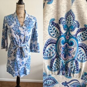 EUC Cynthia Rowley Paisley Robe Boho Chic Small